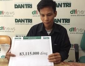 Hơn 83 triệu đồng đến với 3 đứa trẻ mất mẹ vì sét đánh