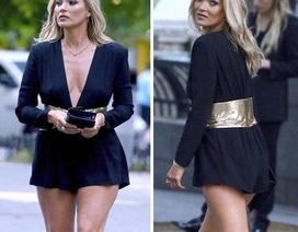 44 tuổi, siêu mẫu Kate Moss sở hữu dáng vóc săn chắc, gợi cảm