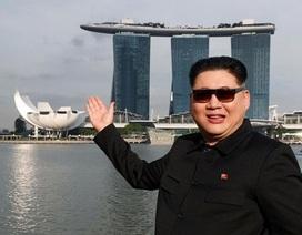 """""""Bản sao"""" của ông Kim Jong-un bị tạm giữ ở Singapore"""