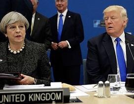 """""""Mệt mỏi"""" với Thủ tướng Anh, ông Trump không gặp bà May tại G7"""
