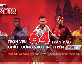 Trọn vẹn 64 trận đấu World Cup 2018 trên VTVcab