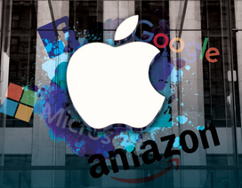 """Microsoft, Apple và Amazon bước vào cuộc đua """"nghìn tỷ"""" đô la"""