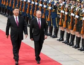 """Ông Tập Cận Bình trải thảm đỏ đón """"người bạn tốt nhất"""" Putin"""
