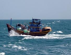5 ngư dân Nha Trang đang được chăm sóc trên tàu nước ngoài