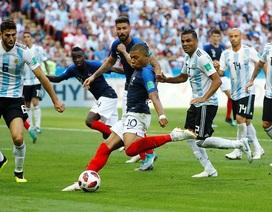 """Hai lần xé lưới Argentina, Mbappe bắt kịp kỷ lục của """"Vua bóng đá"""" Pele"""