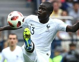 """N'Golo Kante: """"Người không phổi"""" của đội tuyển Pháp"""