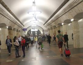 Ký sự nước Nga: Đi xem World Cup bằng tàu điện ngầm