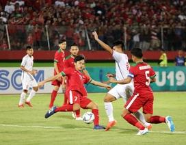 U19 Việt Nam và lời chia tay buồn với giải khu vực
