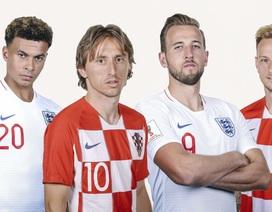 """""""Anh và Croatia sẽ chơi tấn công cởi mở"""""""