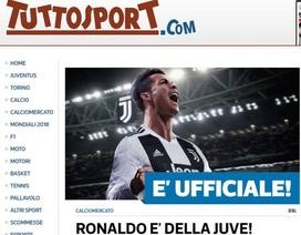 Báo chí thế giới nói gì về việc Real Madrid bán C.Ronaldo?