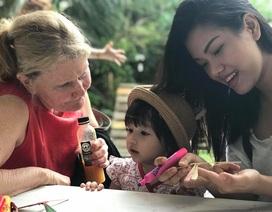 Phương Vy tiết lộ mối quan hệ đặc biệt với mẹ chồng ngoại quốc