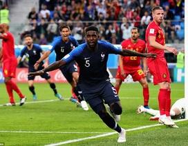 Đánh bại Bỉ, Pháp lần thứ ba vào chung kết World Cup