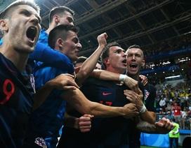 Croatia 2-1 Anh: Croatia lần đầu vào chung kết
