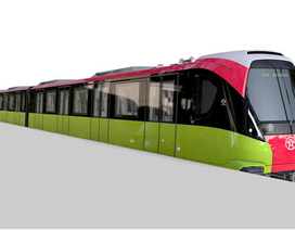 Hé lộ hình ảnh tàu đường sắt Nhổn - ga Hà Nội theo thiết kế của Pháp