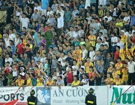 Sân Hàng Đẫy được tăng cường an ninh trước trận Hà Nội-Nam Định