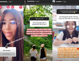 Các hot girl đình đám tiết lộ bí mật không ngờ khi fan hỏi trên Instagram