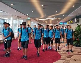 U19 Việt Nam lặng lẽ về nước sau 3 ngày chờ đợi ở Indonesia