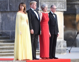 Bà Trump được ví như công chúa khi thăm Anh