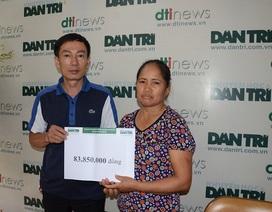 Gần 84 triệu đồng đến với gia đình bé Thiên Ân