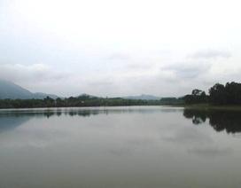 Trưởng Công an xã tử vong dưới hồ nước
