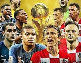 Hướng dẫn xem trực tiếp trận chung kết World Cup 2018 trên smartphone và máy tính
