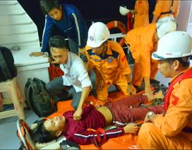 Vượt hơn 200 hải lý đi cứu ngư dân bị tai biến ở vùng biển Hoàng Sa