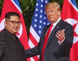 Ông Trump nói Mỹ chưa dỡ bỏ trừng phạt Triều Tiên