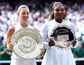 Đánh bại Serena Williams, Kerber lần đầu vô địch Wimbledon