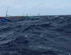 Tàu cá liên tiếp gặp nạn trên biển, 5 người mất tích
