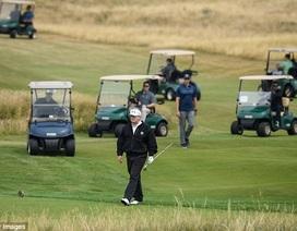 Tổng thống Trump thư giãn tại khu nghỉ dưỡng sang trọng trước giờ gặp ông Putin