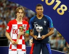 Luka Modric giành giải Quả bóng vàng World Cup 2018