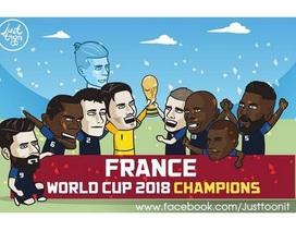 Toàn cảnh World Cup 2018 qua loạt ảnh chế hài hước của cư dân mạng