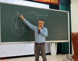 """GS Ngô Bảo Châu: """"Học Toán không chỉ để thi đạt điểm cao, mà là niềm vui khám phá sáng tạo"""""""