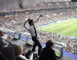 Tổng thống Pháp phấn khích khi đội nhà giành vô địch World Cup