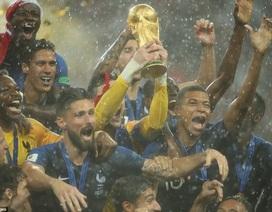 Niềm hạnh phúc vỡ òa của Pháp khi giương cao chức vô địch World Cup