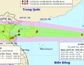 Áp thấp nhiệt đới vào Biển Đông, có khả năng mạnh thành bão