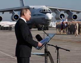 Nga rút hàng loạt máy bay chiến đấu khỏi Syria