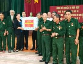 Chủ tịch Quốc hội tới thăm và tặng quà thương binh tại Hà Nam