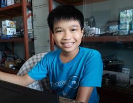 Cậu bé lớp 6 tự học ngôn ngữ lập trình, giành nhiều giải thưởng