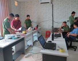 Bắt nhóm đối tượng quốc tịch Trung Quốc sử dụng công nghệ cao để lừa đảo