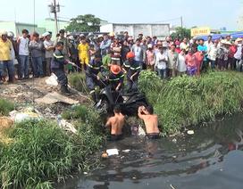 Xuống cứu 2 mẹ con đuối nước, trên bờ bị cướp lấy xe tẩu thoát