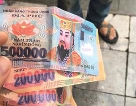 Đã tìm ra người trả lại tiền âm phủ cho hai vị khách nước ngoài