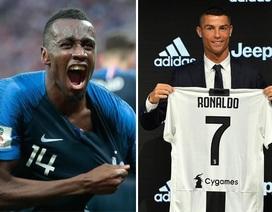 """Matuidi: """"Làm đồng đội của tôi là may mắn của C.Ronaldo"""""""