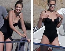 Gigi Hadid diện áo tắm liền mảnh vẫn quyến rũ