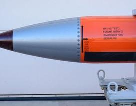 """Mỹ thử thành công bom """"kẻ hủy diệt"""" trên máy bay ném bom tàng hình B-2"""