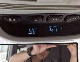Kinh nghiệm sử dụng điều hòa ôtô trong mùa hè