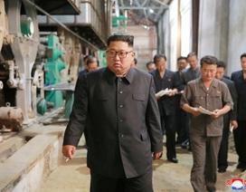 Ông Kim Jong-un khiển trách công nhân chưa chăm chỉ khi thăm các nhà máy