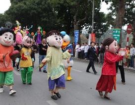 5000 người tham gia lễ hội đường phố lớn chưa từng có ở Hồ Gươm