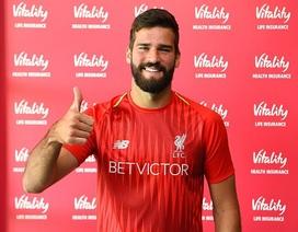 Liverpool chính thức ra mắt thủ môn đắt nhất thế giới