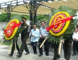 Trưởng Ban tổ chức Trung ương tri ân các anh hùng liệt sĩ